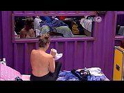 Ana Paula mostrando o peito enorme